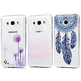 3 x Samsung Galaxy J7 2016 Edition Hülle,KASOS Samsung