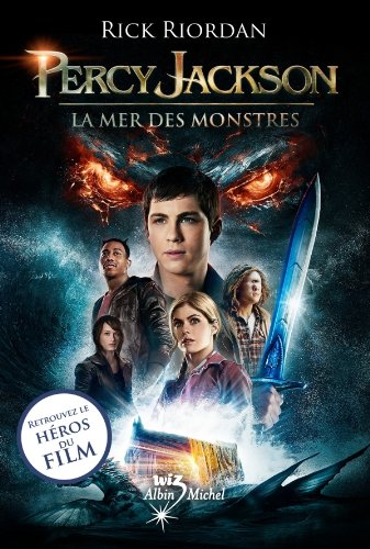 La Mer des monstres : Percy Jackson - tome 2 (Wiz) (French Edition)