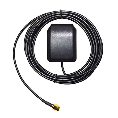 HQRP verstärkte externe GPS-Antenne für Trimble Lassen iQ modul 2000A / Lassen SK II board / Lassen SQ modul / TNL 1000 Panelmount GPS (5.2 VDC) + HQRP Sonnenlichtmesser -