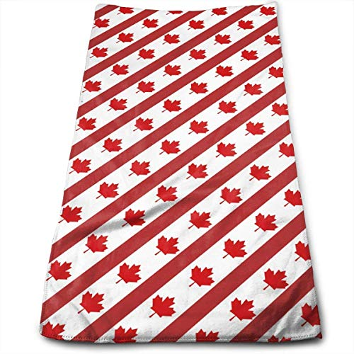 Canadian Symbol Maple Leaf Flag.jpg Multi-Purpose Microfiber Towel Ultra Compact Super Absorbent and Fast Drying Sports Towel Travel Towel Beach Towel Perfect for Camping, Gym, Swimming. - Moen-symbol