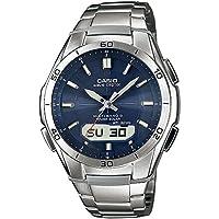 Casio Wave Ceptor �?? Men's Analogue/Digital Watch with Solid Stainless Steel Bracelet �?? WVA-M640D-2AER