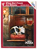 Best White Mountain Friends Puzzle Pieces - Where Best Friends Are Welcome 1000-piece Puzzle Review
