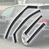 Fully Tailored Wind / Rain Deflectors / Includes Clips Adhesive and Instructions
