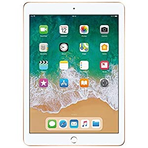 Apple iPad (Wi-Fi + Cellular, 32 GB) – Gold (Latest Model)
