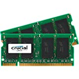 Crucial Sodimm Laptop Memory Upgrade Storage Device 4 GB (2GBx2), DDR2 PC2-5300,Cl=5 1.8v