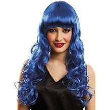 My Other Me Me Me- Pelucas Y Sombreros, Color Azul, Talla única (