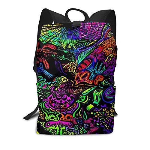 Trippy-pic Rucksack Middle für Kinder Jugendliche Schulreisetasche