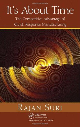 It's About Time: The Competitive Advantage of Quick Response Manufacturing par  Rajan Suri