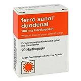 Ferro Sanol duodenal hartkapsel mit msr.überz.pell 20 stk