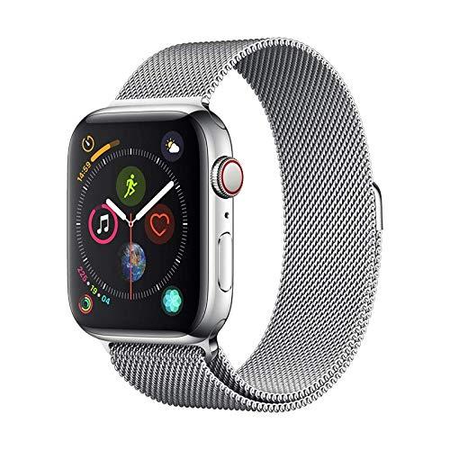 Cinghia di Alluminio Serie milanese Argento per Apple Watch (40mm)