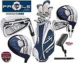 Wilson Profile XD - Juego Completo de Golf para Mujer