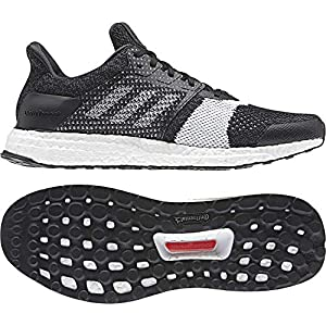 adidas Ultraboost St M, Zapatillas de Running para Hombre, Negro Core Black/FTWR White/Carbon, 44 2/3 EU