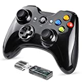 EasySMX Mando Inalámbrico, [2019 Versión] 2.4GHz Gaming Controller Gamepad Joystick con Doble Vibración, Batería de Litio Juega con 8 Horas para PS3 / PC/Android Phones/Tablets/TV Box