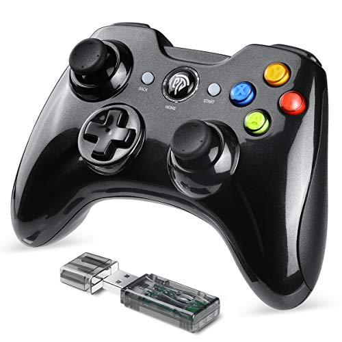 EasySMX Joystick, Controller Wireless, KC-8236 Gamepad Wireless 2.4G, Doppia Vibrazione, 8 Ore di...