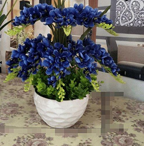 Dolo Kunstblumen, hohe Kunstblumen, Orchideen, Kostüme, Topfpflanzen, - Orchidee Kostüm