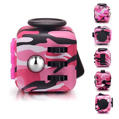 Fidget toy fidget cube rosso alleggerisce lo stress e la paura per bambini e adultit