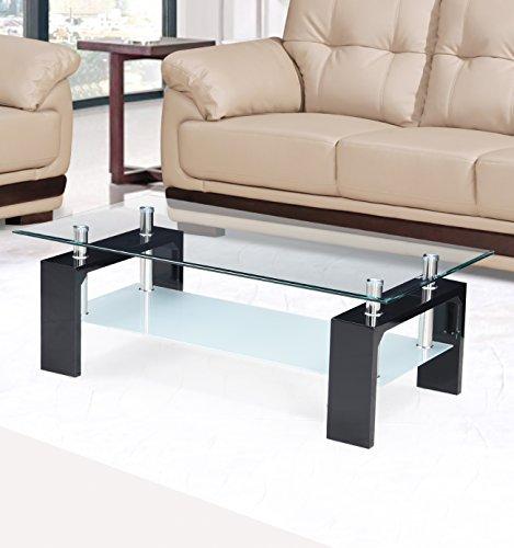 Royaloak Cleo Coffee Table (Black)