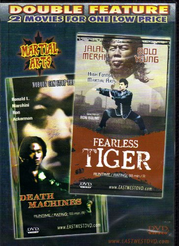 Bild von Death Machines / Fearless Tiger [Slim Case]