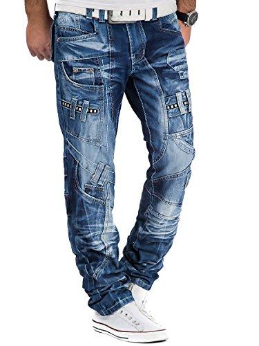 Kosmo Lupo - Jeans - Homme Bleu