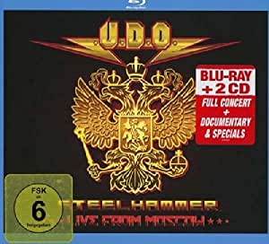 Steelhammer - Live From Moscow (Bluray+2cd)
