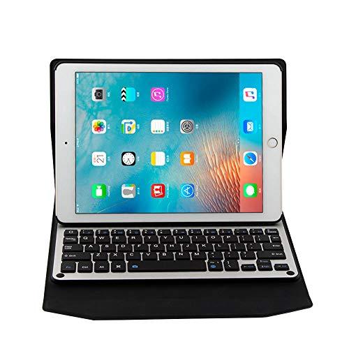 UNOKS LED Colorful Backlit Wireless Bluetooth Keyboard, Split Type, Aluminum Alloy Case for Ipad Ari/Ari 2/Pro9.7/Ipad 9.7 Bluetooth-ge
