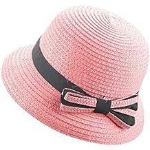 Sombrero del Sol del Verano De Los Niños AIMEE7 Sombrero De Copa del Sombrero  De Paja ec16f30e5d3