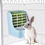 Small Animal Supplies plastica PET Rabbit/cincillà 2 in 1 feeder ciotole a doppio uso per erba/food