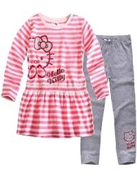 Hello Kitty Tunica mit Leggins rosa