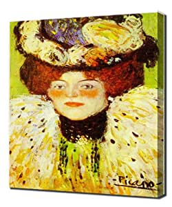 Picasso - Head Of Woman - Reproduction d'art sur toile