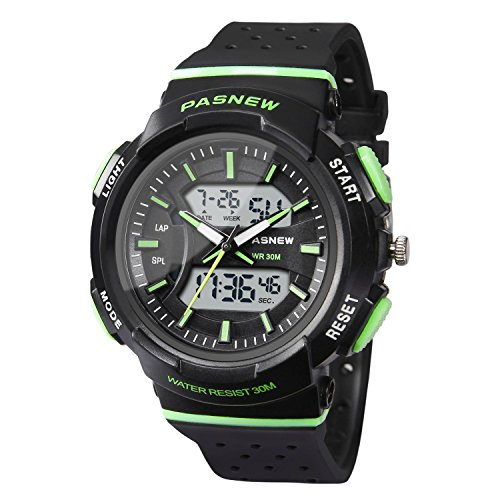 Hiwatch Reloj para Niños Reloj Deportivo Impermeable Nadando Niños Niñas Relojes de Led Digital para Niños de 7 Años de Edad Estudiantes
