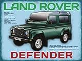 Land Rover Geländewagen Auto Blechschild Stabil Groß NEU 40x30cm S665