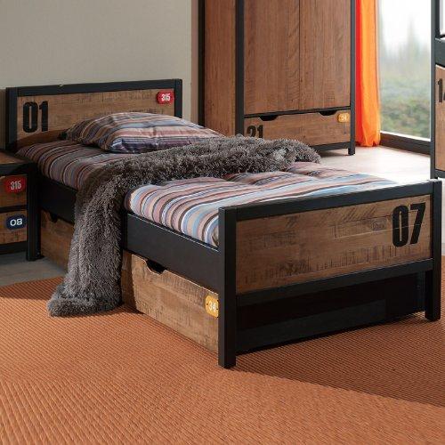 Kinderbett Jugendbett Kiefer teilmassiv Bett Kindermbel Jugendmbel Schublade