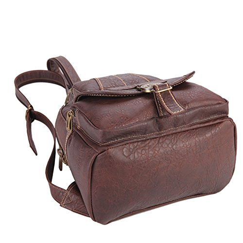 Lycailcy  LYC-Lycailcy-80293-5, Sac à main porté au dos pour femme Marron Light Brown(9.3 x 5.5 x 11.8 inches) taille unique Purple(9.3 x 5.5 x 11.8 inches)