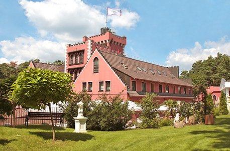 Geschenkgutschein: Wellness-Kurzurlaub im Burghotel in Brandenburg für 2