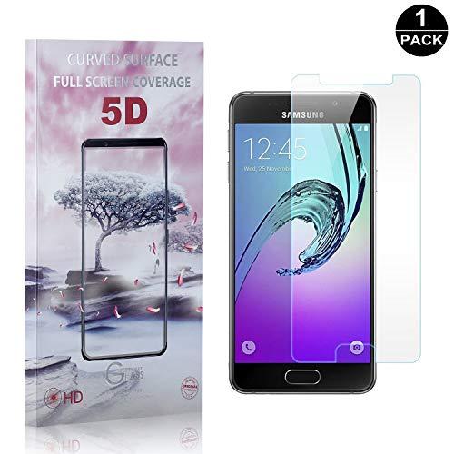 Bear Village Galaxy A3 2016 Vetro Temperato 0.26mm, HD Trasparente, 9H Durezza, 3D Touch Pellicola Protettiva in Vetro Temperato per Samsung Galaxy A3 2016, 1 Pezzi