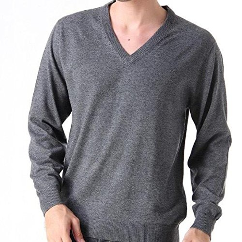 BOMOVO Sweatshirt Herrenpullover Pulli Sweatjacke Sweater Top Grau1