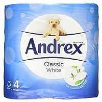 Andrex Classic White Toilet Tissue 4 Rolls