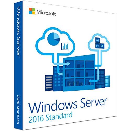 Windows Server 2016 Standard ESD Key Lifetime / Fattura / Consegna Immediata / Licenza Elettronica / Per 1 Dispositivo