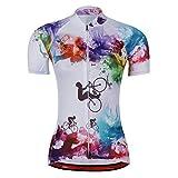 zm New Summer Damen Kurze Zyklus Jersey Kurzarm Fahrradtrikot Fahrrad Hemd Fahrrad Radfahren Trikot Cycling Jersey Bike Shirt