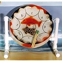 Mini Calypso Steel Drum with Sticks, Stand,