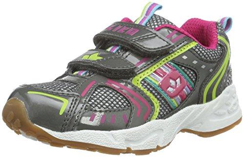 Lico Silverstar V, Chaussures de sports en salle fille Gris