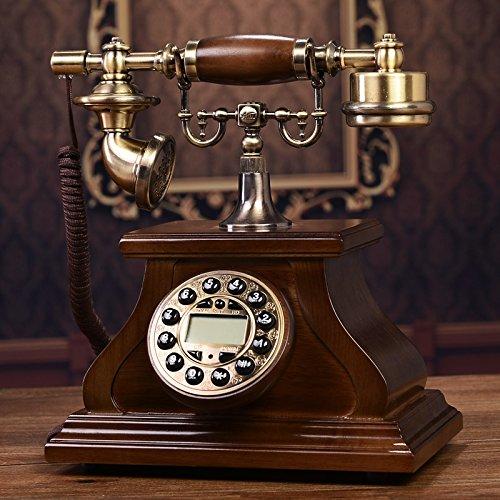 Motesuvar Antikes Telefon, Europäische Telefon -, Retro - Telefon, Amerikanische Repariert Flugzeug,Weiße Freisprech - Blue - Screen Caller Id Display Screen Caller Id