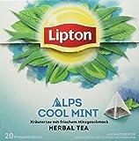 Lipton Kräutertee Alpenminze Pyramidenbeutel 20 Stück