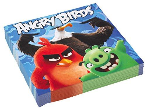 Angry Birds Party Servietten zum Kinofilm Kindergeburtstag