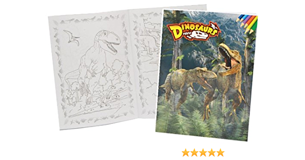 Alles Meine De Gmbh Malbuch A4 Dinosaurier Dino Malvorlagen Dinos Zum Ausmalen Malspass Gross Tyrannosaurus Rex Saurier Amazon De Spielzeug