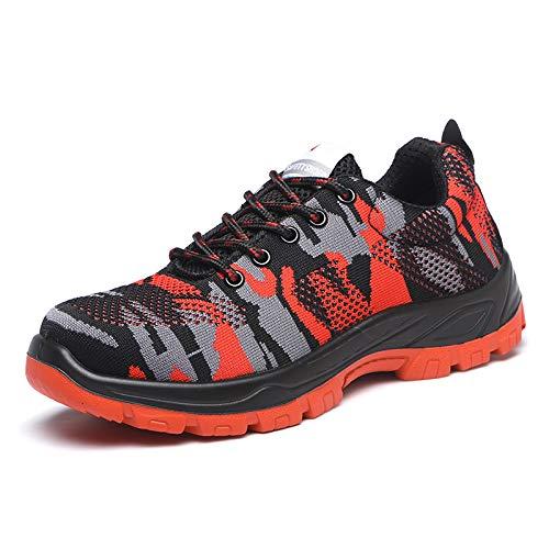 Leobtain Soldat Walking Men Klettern Schuhe Atmungsaktiv rutschfest Berg Laufen Wandern Sicherheit Sneaker