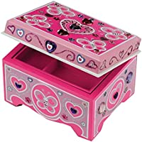 Melissa & Doug Decorate-Your-Own Wooden Jewellery Box Craft Kit