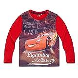 Disney Cars Jungen Langarmshirt - rot - 116
