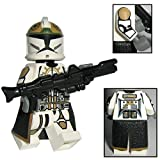 Custom Brick Design CBD 87th Star Corps Legion Clone Trooper Soldat, Figur Gefertigt aus Lego Star Wars & Custom Teilen