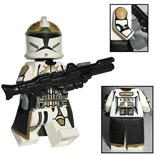 (Custom Brick Design CBD 87th Star Corps Legion Clone Trooper Soldat, Figur Gefertigt aus Lego Star Wars & Custom Teilen)